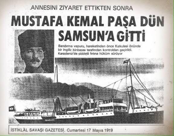 Mustafa Kemal Paşa Samsun