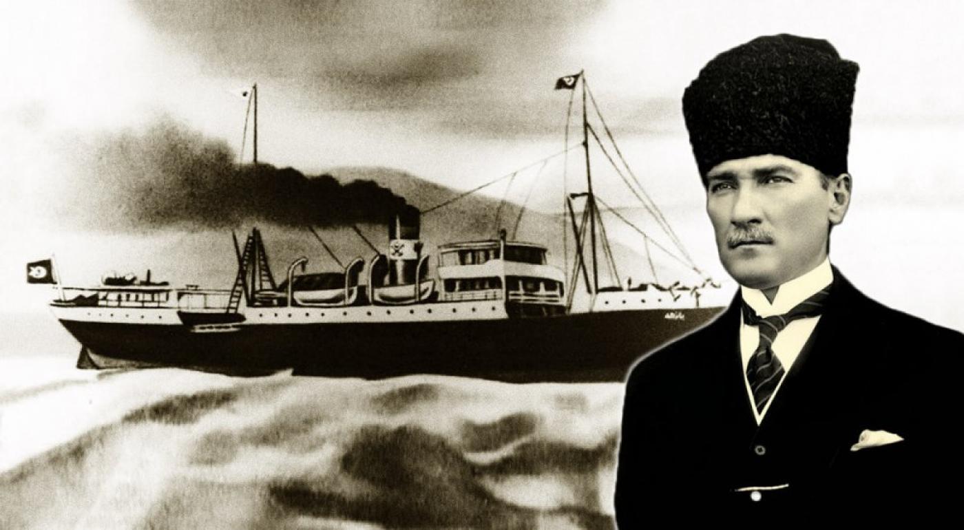 Mustafa kemal Paşa Samsun yolunda