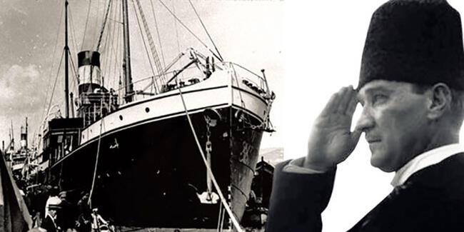 Atatürk Samsun çıkıyor